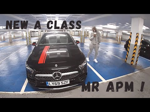 Spending the day in a new A class ?!