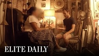 Guy Goes Undercover To Prove Storefront Psychics Are Full Of It [LABS] l Elite Daily