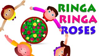 Ringa Ringa Roses Nursery Rhyme And Many More - Nursery Rhymes Collection english