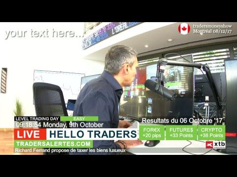 Emission Hello Traders du 9 Octobre 17