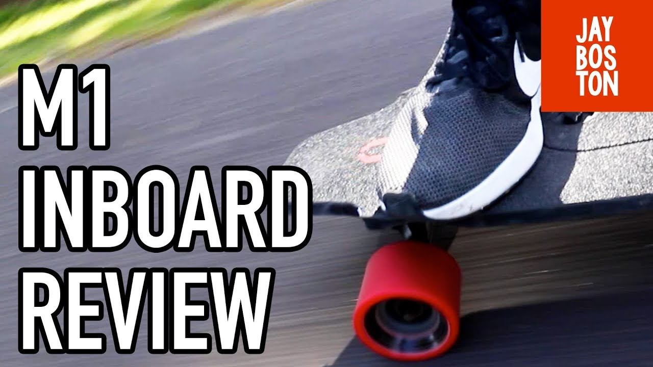 THE M1 INBOARD REVIEW   FIRST RIDE ELECTRIC SKATEBOARD - YouTube e63d6b1c7c5