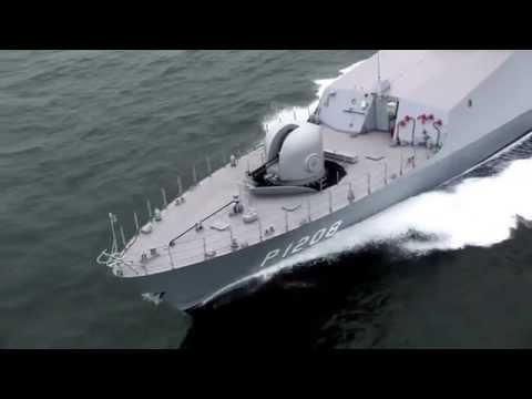 Türkische Marine Boot Tuzla Class Militär Armee