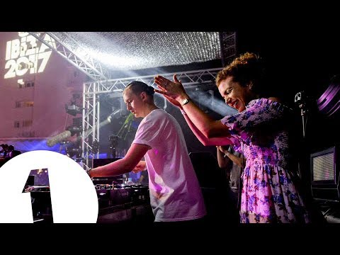 Disclosure B2B Annie Mac live at Café Mambo for Radio 1 in Ibiza 2017