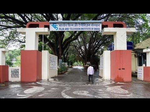 Film and Television Institute of India I TV Broadcast and film shooting