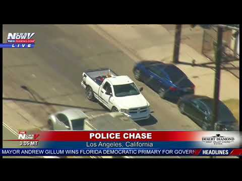 CHASE PARADE: The STRANGEST Police Chase YOU WILL EVER SEE