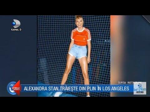 Stirile Kanal D (07.10.2017) - Alexandra Stan s-a mutat in Los Angeles! Editie COMPLETA