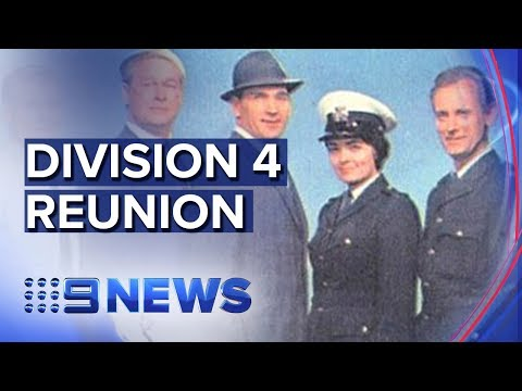 Cast And Crew Of Australia's Top Cop Show Reunite | Nine News Australia