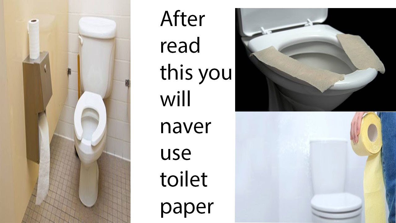 read this you will naver put toilet paper on toilet seat you