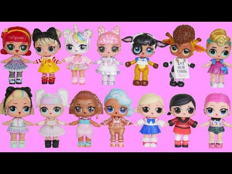 LOL Surprise Dolls Wrong Heads + Family Dress Up Under Wraps