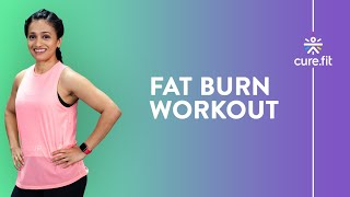 Fat Burning Workout At Home by Cult Fit | Lose Belly Fat | Upper Body Workout | Cult Fit | Cure Fit screenshot 4
