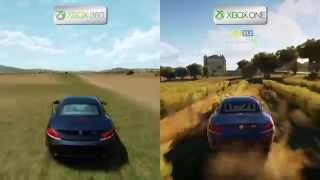 Forza Horizon 2 - Xbox 360 vs Xbox One - Map Comparison