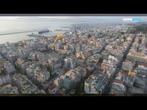 H ΠΑΤΡΑ ΑΠΟ ΨΗΛΑ - Patras drone air view from above - Cinematic