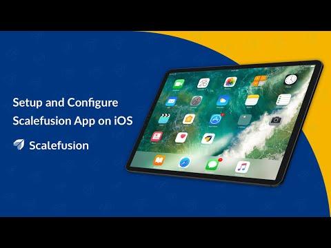 Setup Scalefusion IOS App