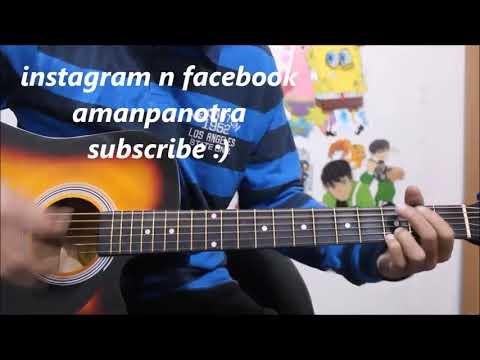 Binte Dil - Arijit singh - Padmaavat - Simple Guitar Cover lesson Chords Hindi