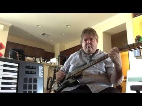 7 string guitar by SGR. Nice tuning.