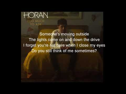 Niall Horan - Too Much To Ask (lyrics video)
