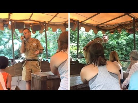 Guide Loves Hippos On Disney Jungle Cruise