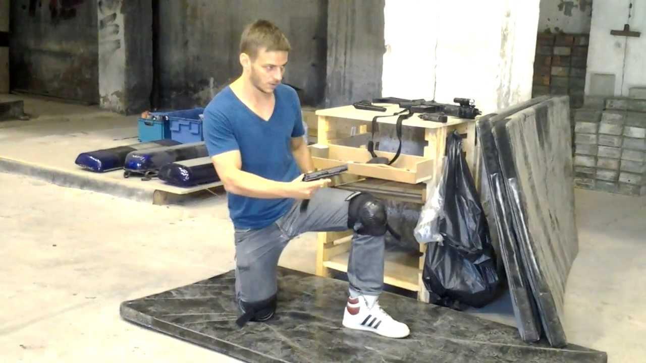 Tom Wlaschiha's Stunt Training