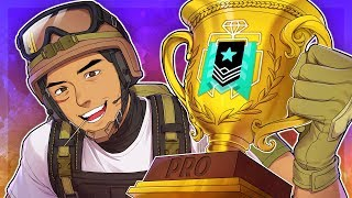 How I WENT PRO in Rainbow Six Siege