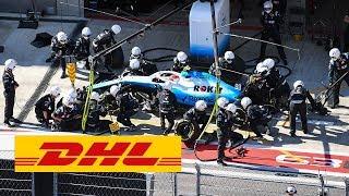DHL Fastest Pit Stop Award:  FORMULA 1 JAPANESE GP 2019 (Robert Kubica / Williams)