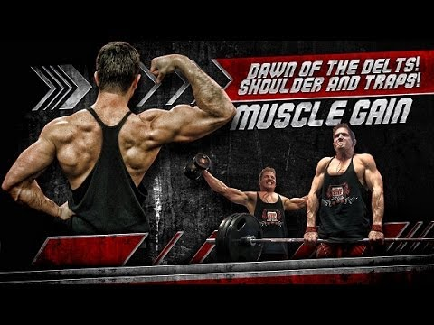 Dawn Of The Delts! Shoulders & Traps! - Muscle Gain