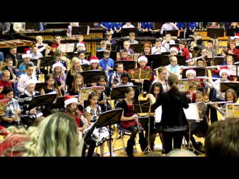 6th grade Grain Valley South Middle School Band - Song 2