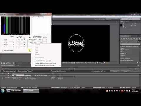 Utilizar el Códec Xvid Para After Effects CS4 Comprimir videos  TUTORIAL   Loquendo