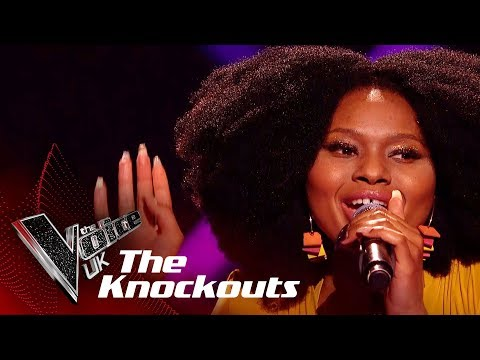 Nandi Performs 'Sing It Back': The Knockouts | The Voice UK 2018