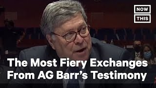 The Most Fiery Exchanges from AG Barr's Capitol Hill Testimony | NowThis YouTube Videos