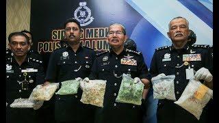 Five arrested, RM804k of drugs seized