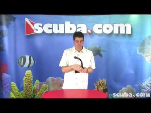 XS Scuba Cargo Stowable Snorkel Video Review