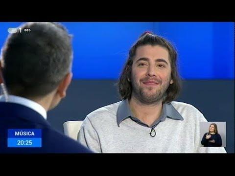 Entrevista a Salvador Sobral no Telejornal | RTP