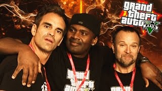 PERSONAJES DE GTA 5 EN LA VIDA REAL!! |  Actores & Voces (Steven Ogg, Ned Luke, Shawn Fonteno)