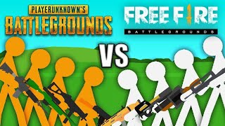Gambar cover PUBG vs Free Fire - Stickman Animation