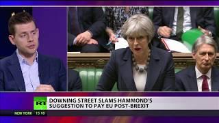 Downing Street slams Hammond