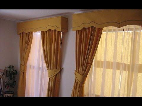 Como hacer cortinas de visillos youtube for Cortinas baratas para habitacion