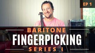 Baritone Ukulele Fingerpicking Series | EP 1 | Tutorial + Chords + Play Along