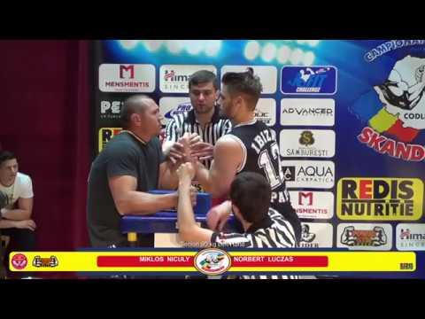 Romania Nationals  2017- Senior Men -90 kg LEFT  - Skanderbeg