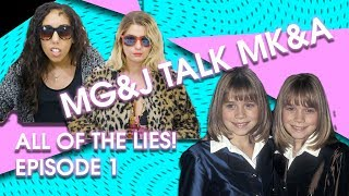 Surprising Lies in Mary-Kate and Ashley's 'Our First Video' | MG & J Talk MK & A Ep 1