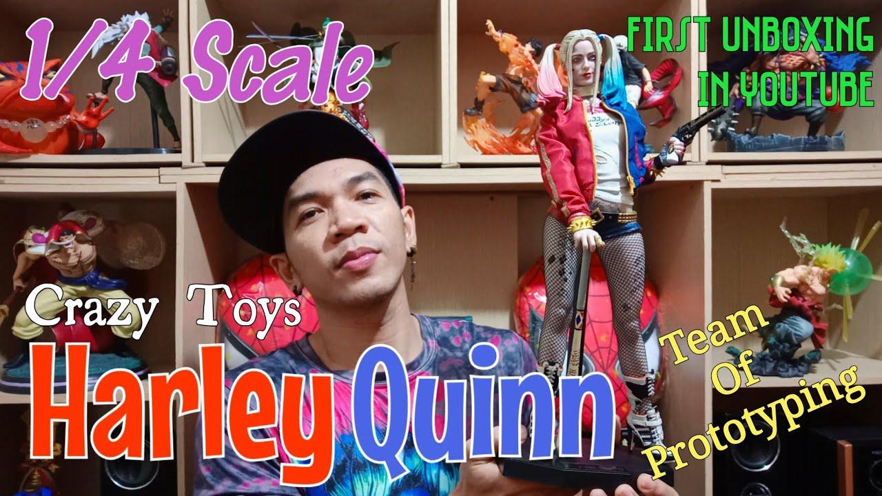 Crazy Toys 43CM Suicide Squad Harley Quinn PVC Statue New