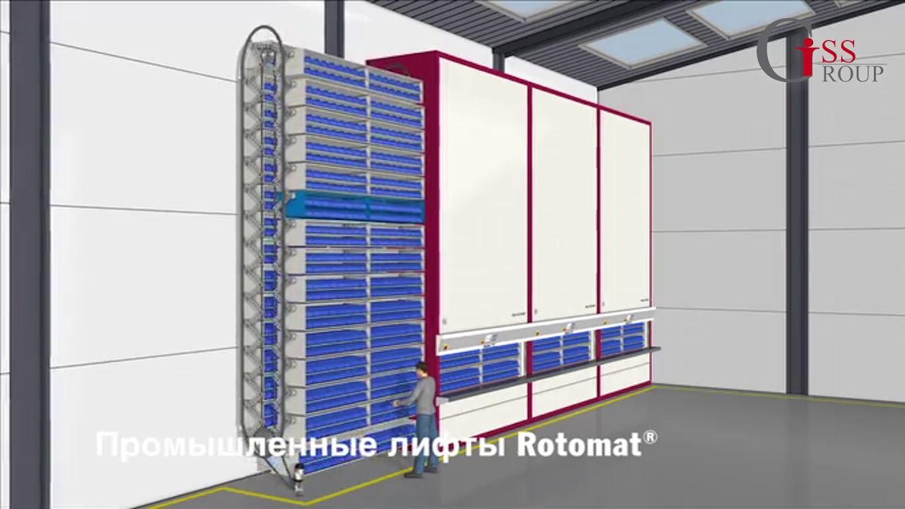 Промышленные системы HÄNEL  ROTOMAT