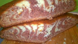 Пирог Зебра/Пошаговый рецепт Пирога.