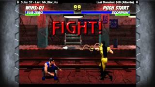 Ultimate Mortal Kombat 3 - (Steam/PC) Playthrough Part 1 [720p/60fps]
