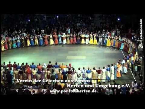 32. Pontiako Festival 2013 in Krefeld - Fona - Auftritt NRW Mädchen