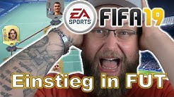 FIFA 19 | unser Einstieg in Ultimate Team | ein Noob am Pad | #1 | gameplay | PS4 | deutsch
