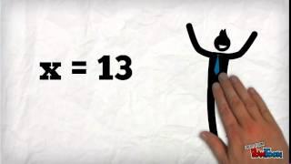 video ecuacion x + a = b