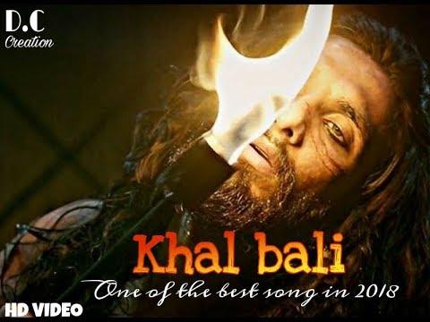 KHALI BALI full HD SONGIS| d.c.creation|PADMAVATI