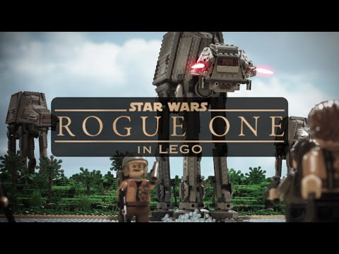 Star Wars: Rogue One trailer redone in Lego is pretty rad