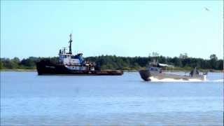 Ocean Clipper towing Ocean Bear