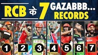 7 IPL Records of Team RCB (Royal Challengers Banglore)   IPL 2020   IPL Records   Most Runs   Sixes